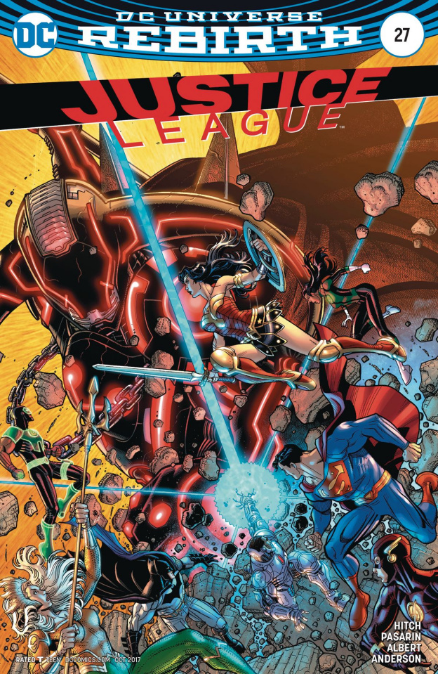 Justice League #27 (Variant Cover)