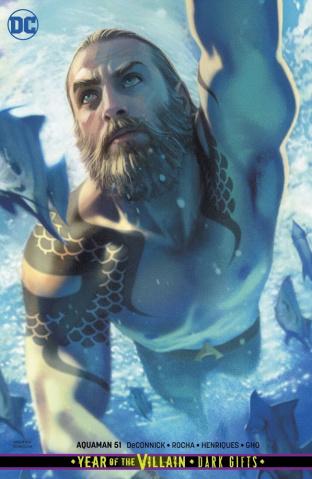 Aquaman #51 (Card Stock Dark Gifts Cover)