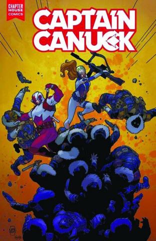Captain Canuck #5 (10 Copy Kerschl Cover)