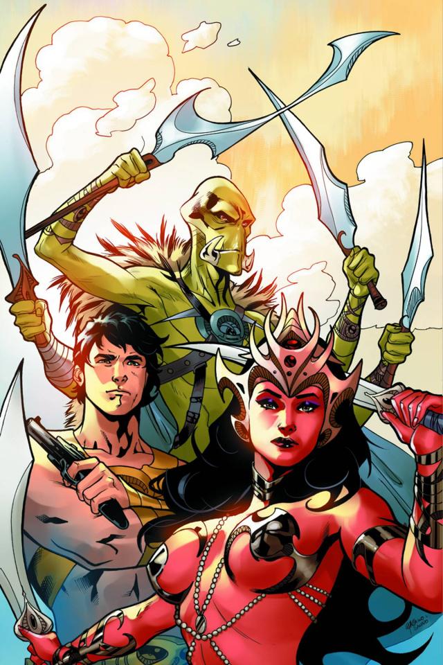 John Carter: Warlord of Mars #11 (30 Copy Lupacchino Cover)