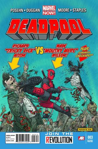 Deadpool #3 (2nd Printing)