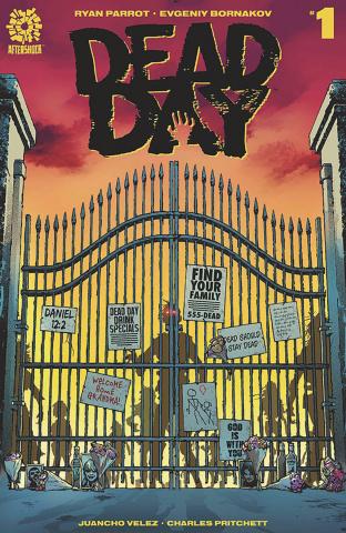 Dead Day #1 (Clarke Cover)