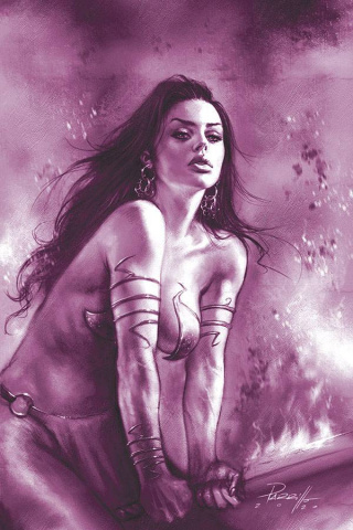 Dejah Thoris #8 (25 Copy Parrillo Tint Virgin Purple Cover)