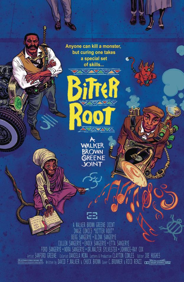 Bitter Root #6 (10 Copy Brunner Cover)