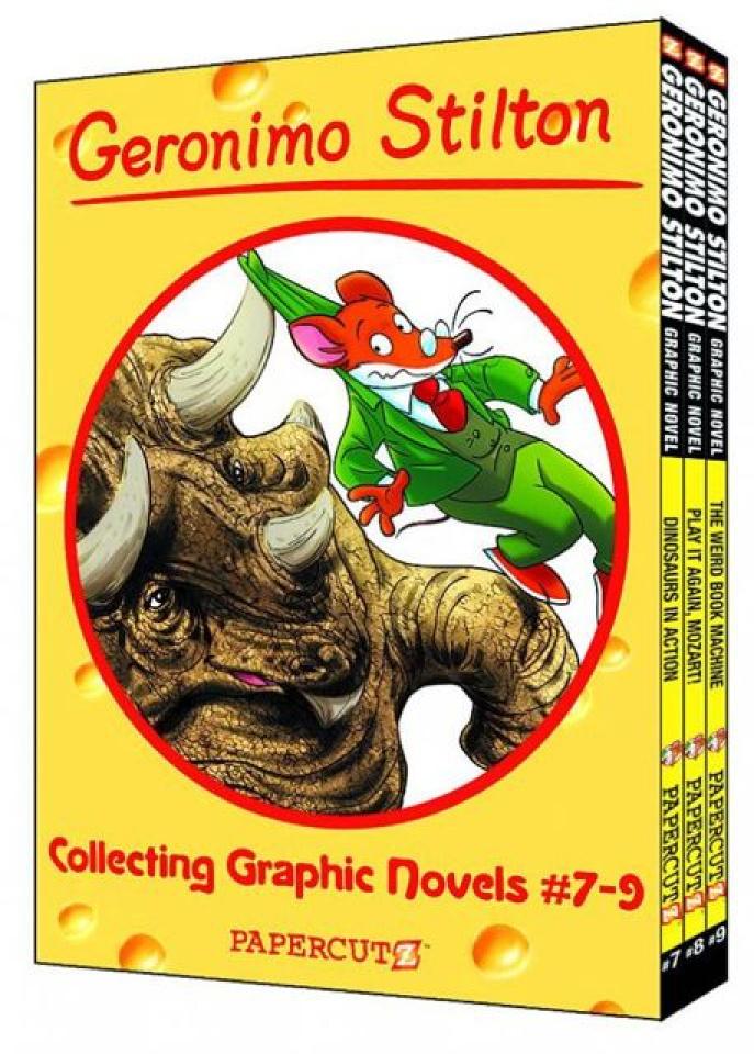 Geronimo Stilton Vols. 7-9