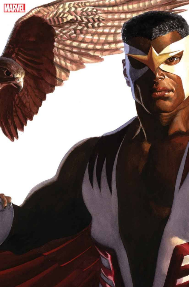 Captain America #24 (Alex Ross Falcon Timeless Cover)
