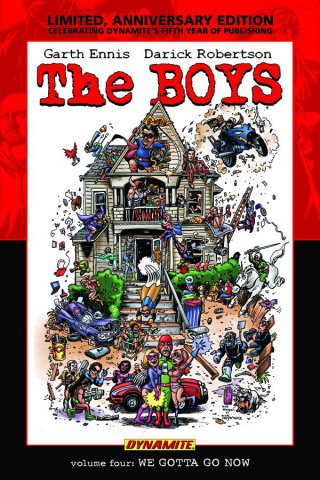 The Boys Vol. 4: We Gotta Go Now (Signed Edition)