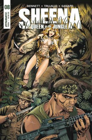 Sheena #8 (Duursema Cover)