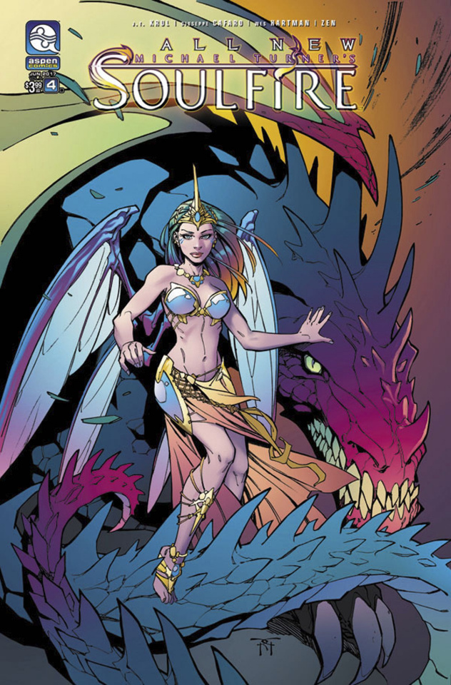 All New Soulfire #4 (Green Cover)