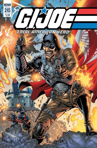 G.I. Joe: A Real American Hero #245 (Gallant Cover)