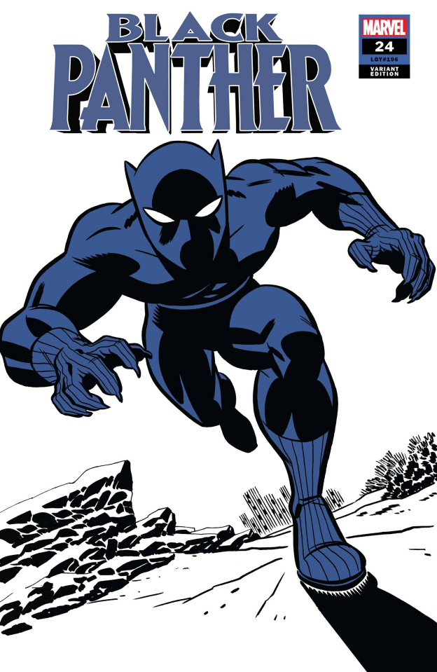 Black Panther #24 (Michael Cho Black Panther Two-Tone Cover)