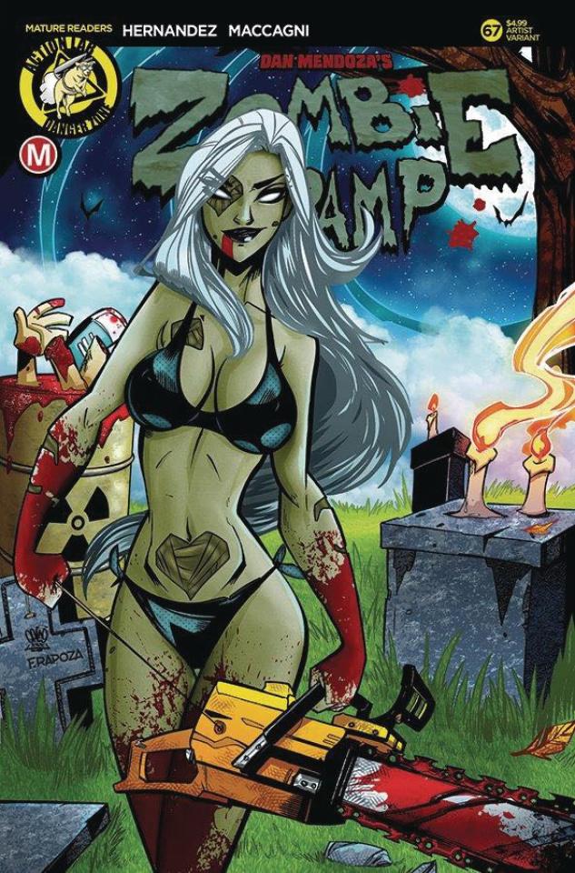Zombie Tramp #67 (Trom Cover)
