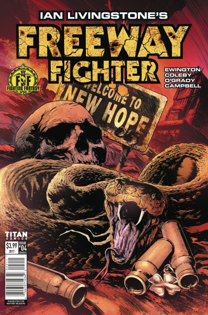 Freeway Fighter #4 (Coleby Cover)