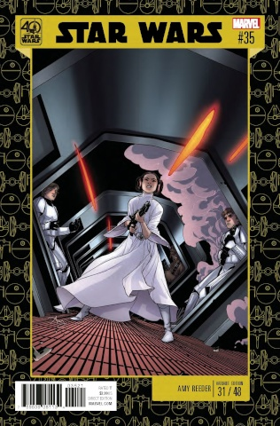 Star Wars #35 (Reeder Star Wars 40th Anniversary Cover)