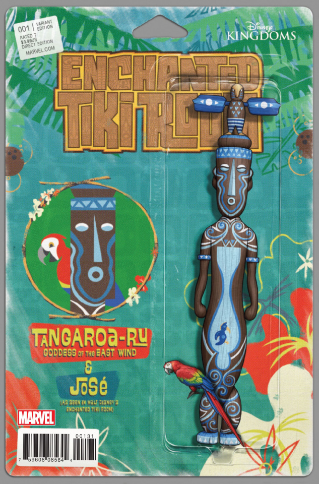 Enchanted Tiki Room #1 (Christopher Action Figure Cover)