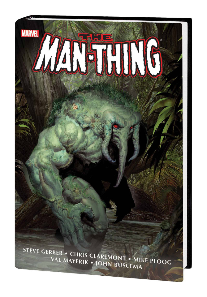 The Man-Thing (Omnibus Olivetti Cover)
