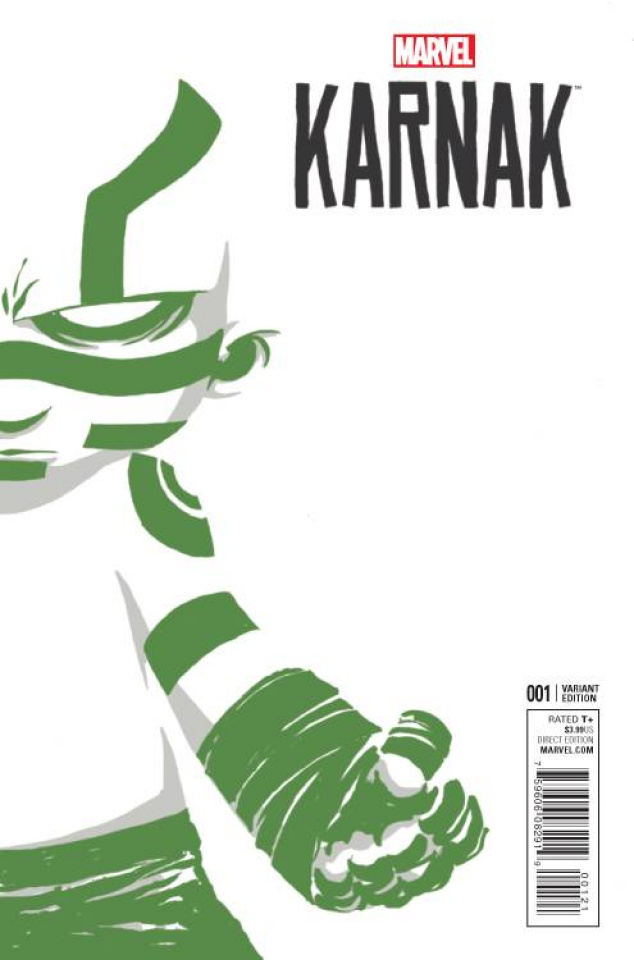 Karnak #1 (Young Cover)
