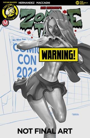 Zombie Tramp #81 (Mastajwood Risque Cover)
