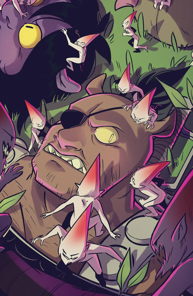 ORCS! #4 (Boo Cover)