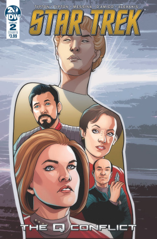 Star Trek: The Q Conflict #2 (Messina Cover)