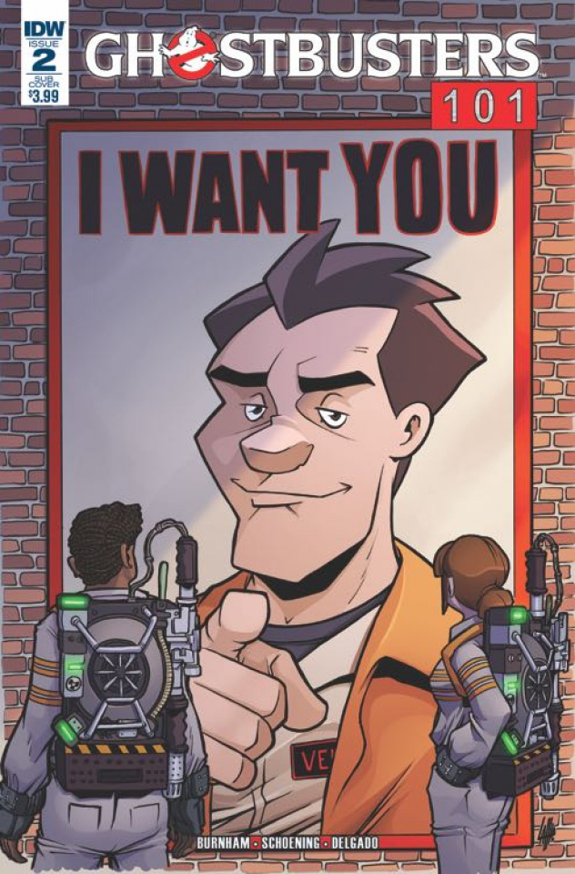 Ghostbusters 101 #2 (Subscription Cover)