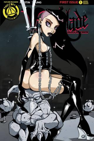Vampblade #1 (Booty Cover)