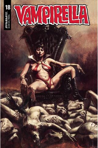 Vampirella #18 (Mastrazzo Cover)