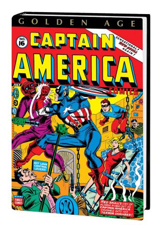 Golden Age Captain America Vol. 2 (Omnibus Avison Cover)