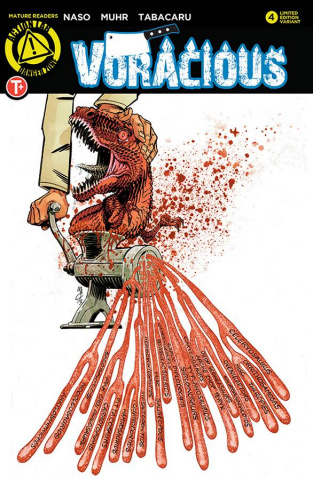 Voracious #4 (Meat Grinder Cover)