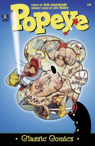 Popeye Classics #38 (10 Copy Cover)