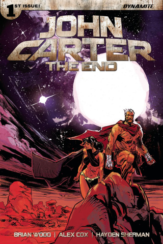 John Carter: The End #1 (Brown Cover)