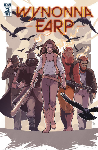 Wynonna Earp, Season Zero #3 (Evenhuis Cover)