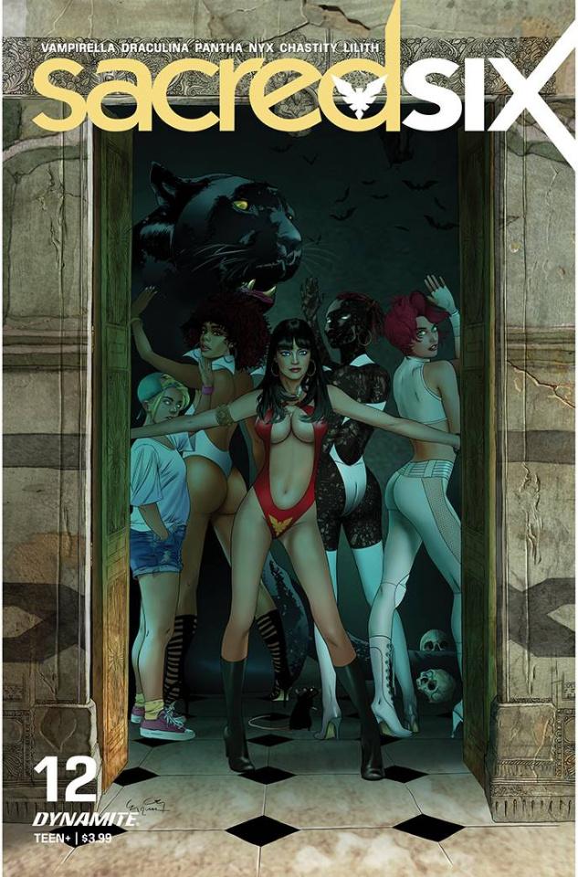 Sacred Six #12 (Gunduz Cover)