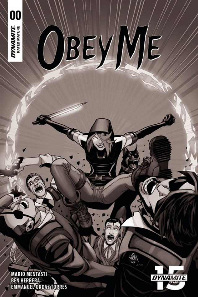 Obey Me #0 (15 Copy Herrera B&W Cover)