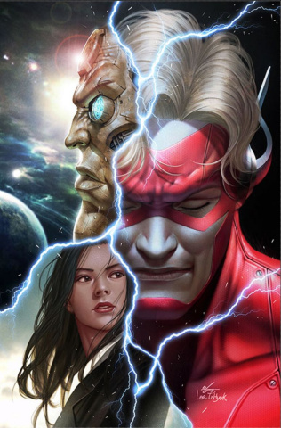 Flash Forward #1 (Variant Cover)