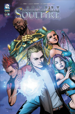 All New Soulfire #8 (Tran Cover)