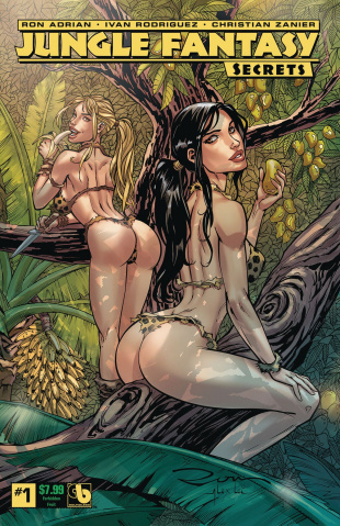 Jungle Fantasy: Secrets #1 (Forbidden Fruit Cover)