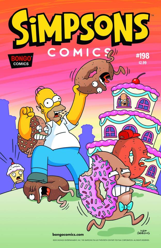 Simpsons Comics #198