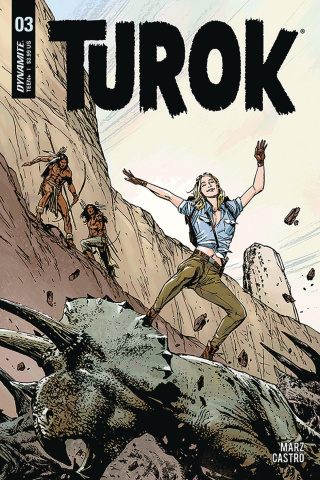 Turok #3 (Guice Cover)
