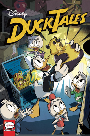 DuckTales: Silence and Science #1 (Ghighlione Cover)