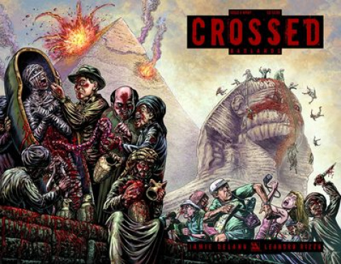 Crossed: Badlands #8 (Wrap Cover)