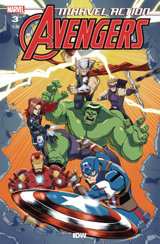 Marvel Action: Avengers #3 (10 Copy Jampole Cover)