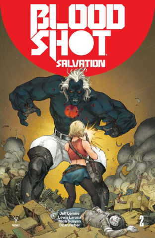 Bloodshot: Salvation #2 (Rocafort Cover)