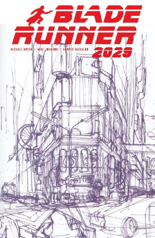Blade Runner 2029 #1 (Mead Cover)