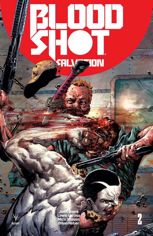 Bloodshot: Salvation #2 (Tan Cover)