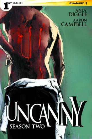Uncanny, Season Two #1 (Jock Cover)