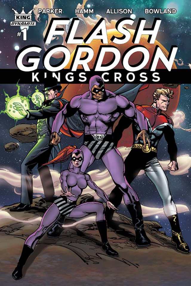 Flash Gordon: Kings Cross #1 (Subscription Cover)