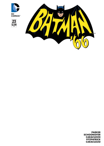 Batman '66 #23 (Blank Cover)
