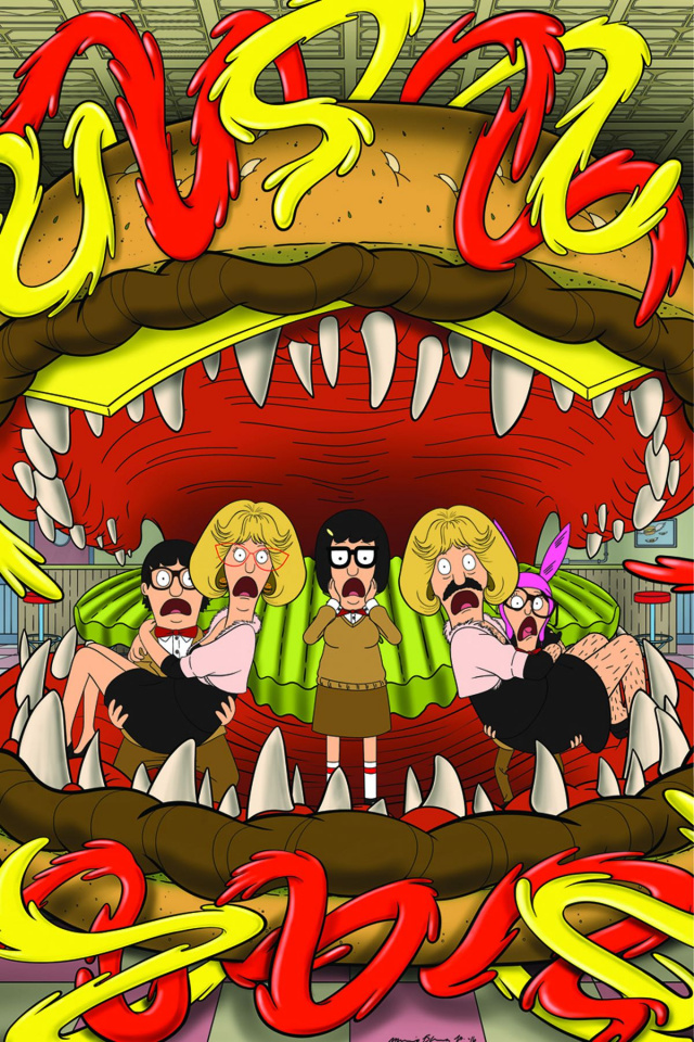 Bob's Burgers #16 (Rare Danna Virgin Art Cover)