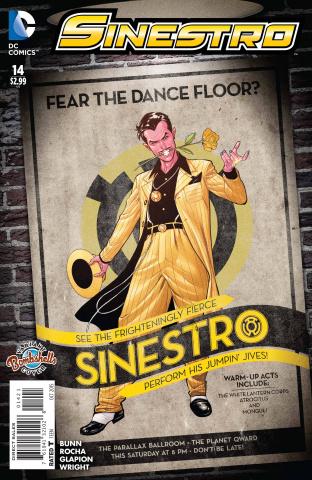 Sinestro #14 (Bombshells Cover)